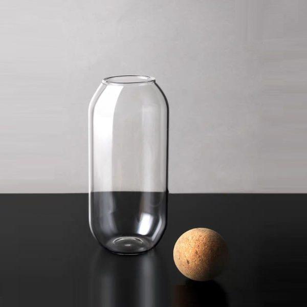 glass storage bottle