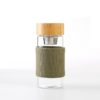400ml tea infuser with bamboo lid