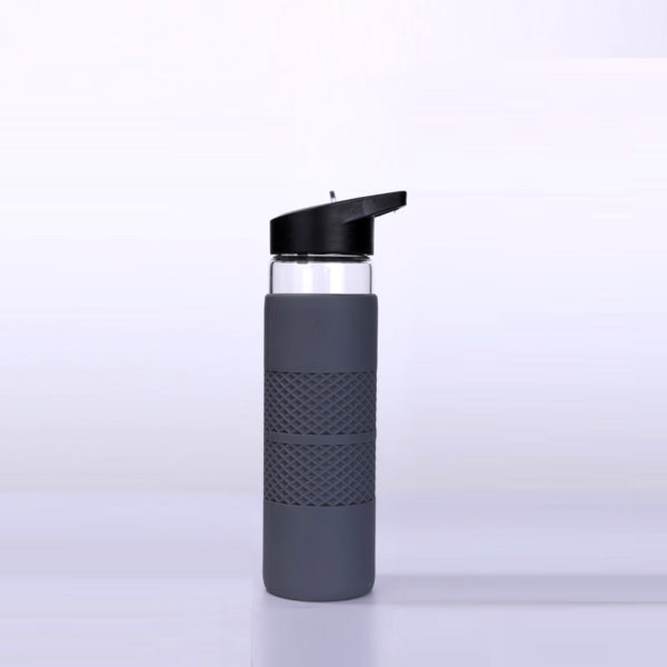 20oz full protective silicone cover water bottle