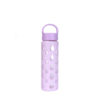 20oz full protective silicone cover water bottle glass