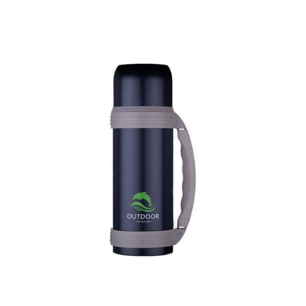 Double wall stainless steel flask vacuum sport water pot vacuum insulated travel pot