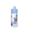 High borosilicate glass water bottle with silicone handle