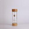 14oz tea tumbler glass tea infuser bottle +strainer loose tea leaf infuser -1