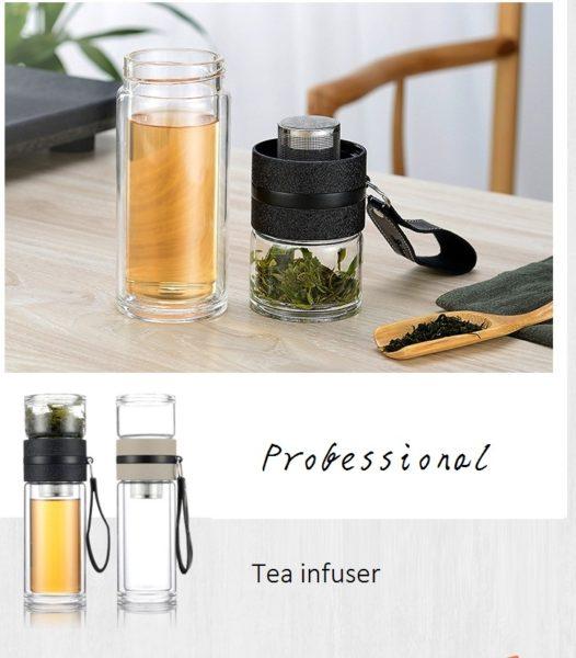 professional glass tea infuser