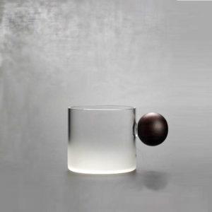 High borosilicate glass color water bottle design