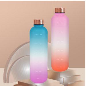 Bpa free with palstic tritan 32oz colorful flip cap sport bottle